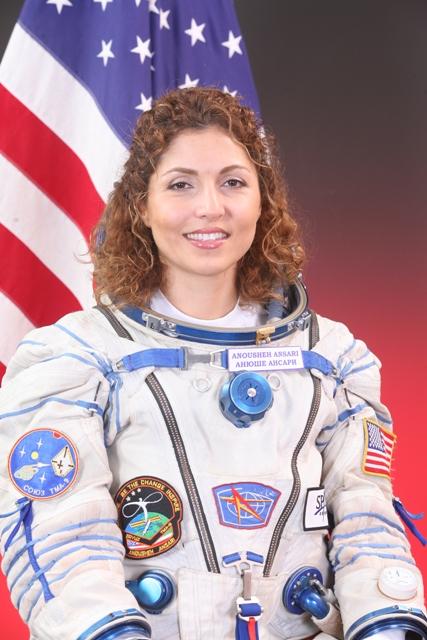 первая персиянка-космонавт Ануше (Анюше) Ансари. фото / Anousheh Ansari