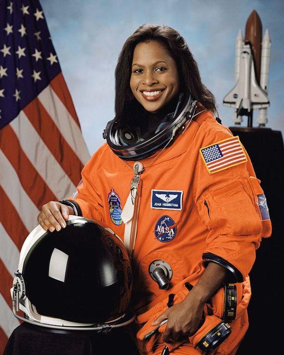 астронавтка Джоан Хиггинботем / Joan Higginbotham
