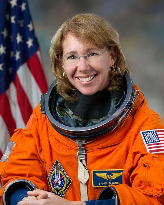 40-я женщина-космонавт - американка Сандра Магнус / Sandra Magnus