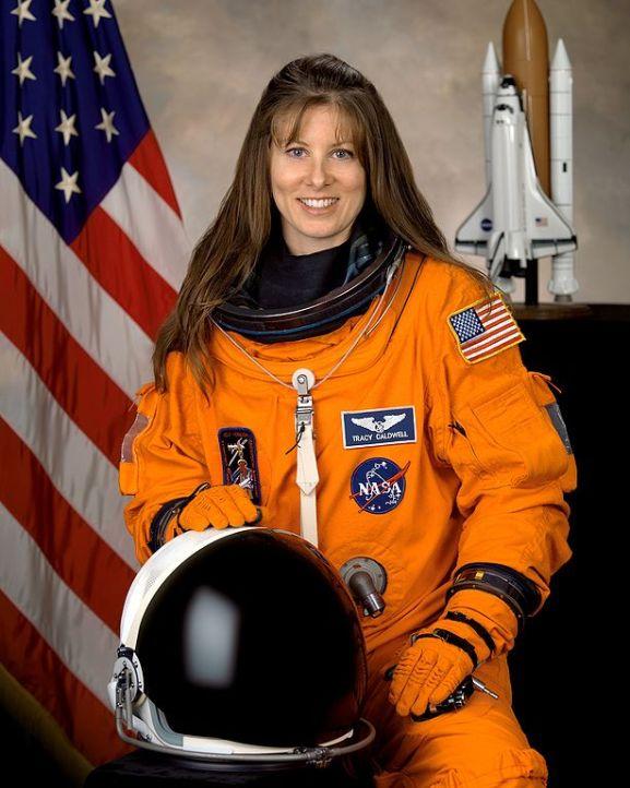 женщина-астронавт Трейси Колдуэлл Дайсон / Tracy Caldwell Dyson
