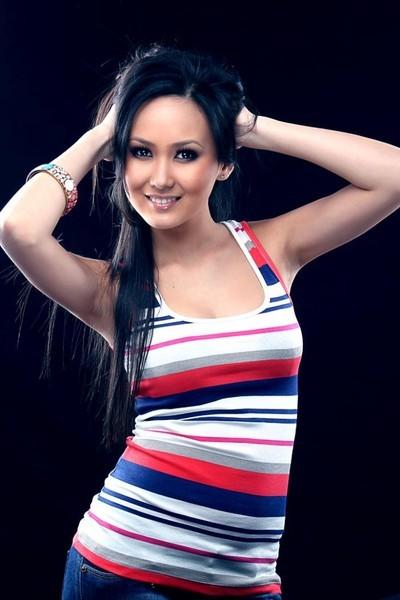 красивая кыргызка Айжамал Жакеева - актриса, Miss Fashion KG 2010. фото