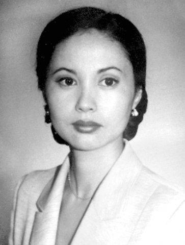 красивая кыргызка Айнура Кабатай кызы - телеведущая. фото
