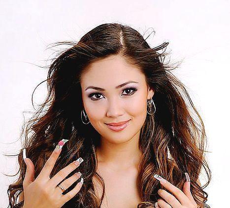 Анжелика Турдушаева - кыргызская певица, дизайнер. фото