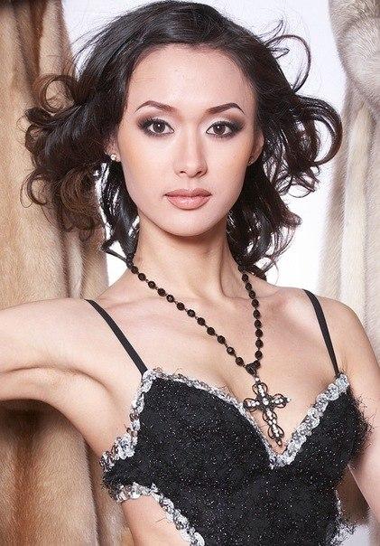 Людмила Соколова - якутская модель. фото