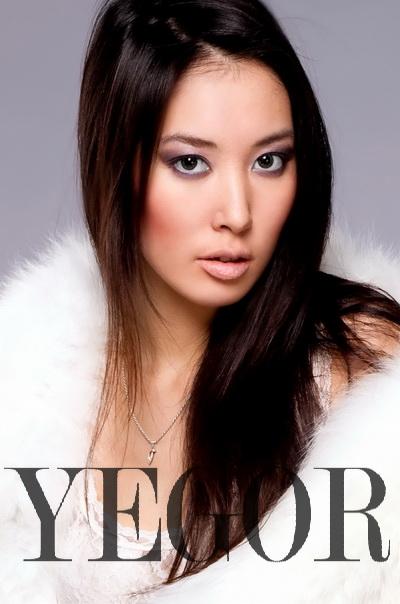 Феклана Меркурьева, якутская модель агентства Славы Зайцева. фото