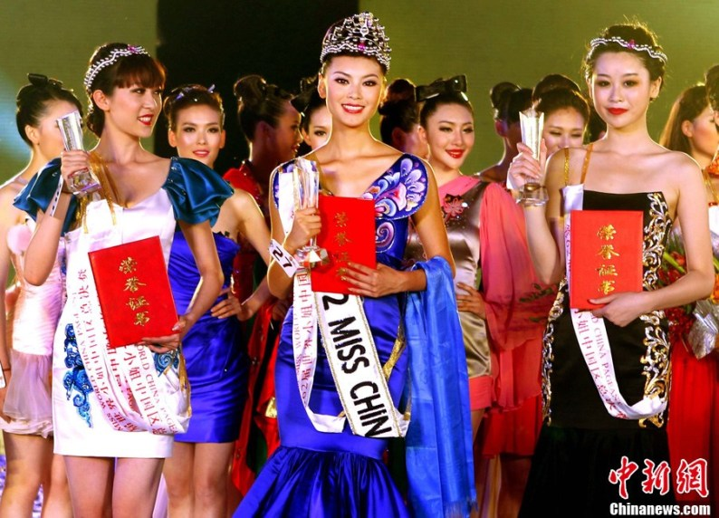 Юй Вэнься/ Yu Wenxia (Китай) - победительница Мисс мира 2012. фото