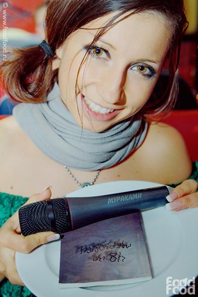 Диляра Вагапова - певица, солистка группы Мураками. фото
