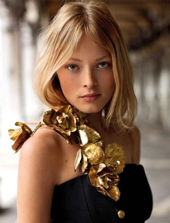 Ольга Малюк - украинская модель. фото