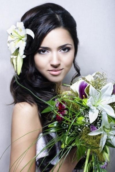 красивая татарка Рената Зайнулина - модель. фото