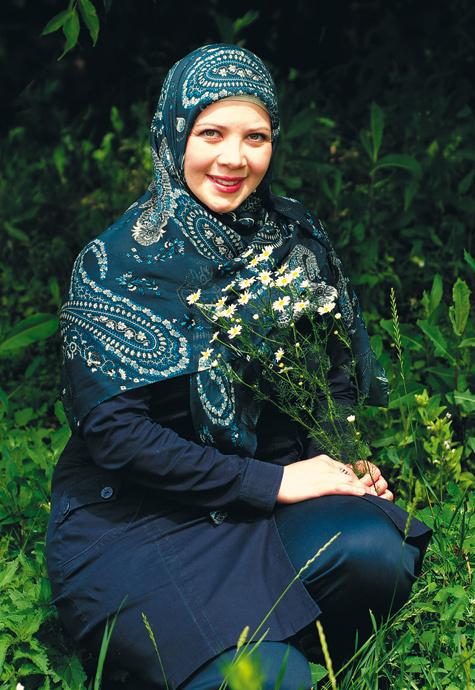 Динара Садретдинова, ведущая программы Мусульмане. фото