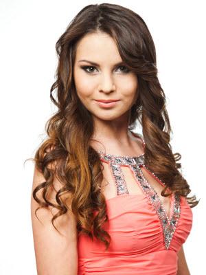 красивая татарка Лилия Аймалетдинова, Вице-Мисс конкурса Российская красавица 2012
