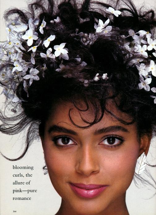 Louise Vyent - темнокожая нидерландская модель.