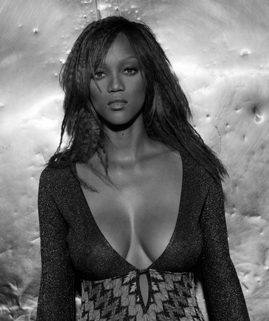 сексуальная афроамериканка Тайра Бэнкс. фото