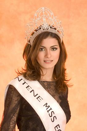 красивая коптка Meriam George - Мисс Египет 2005. фото