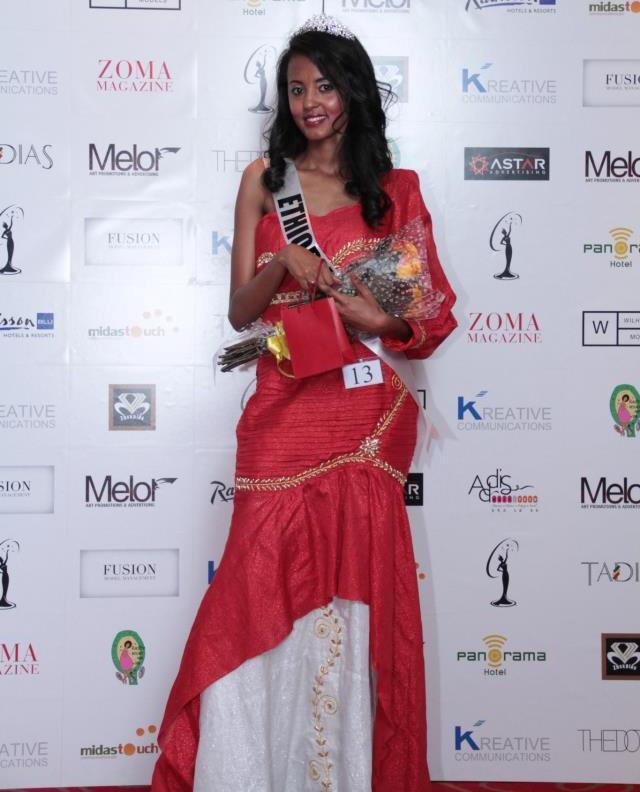 самая красивая эфиопка Хелен Гетачеу, участница Мисс Вселенная 2012. фото