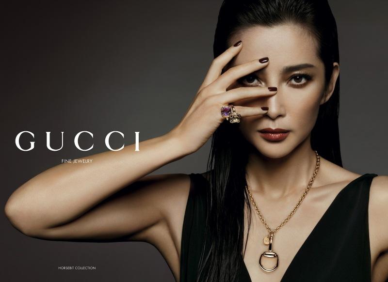 реклама Гуччи / Gucci. Ли Бинбин. фото