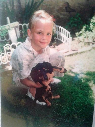 Тереза Файксова в детстве. фото
