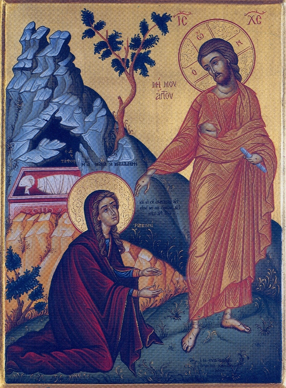 Мария Магдалина и воскресший Иисус ...: top-antropos.com/religion/hristianstvo/item/81-noli-me-tangere