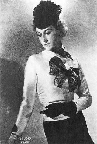 Мисс Россия 1938 Евгения Дашкевич. фото