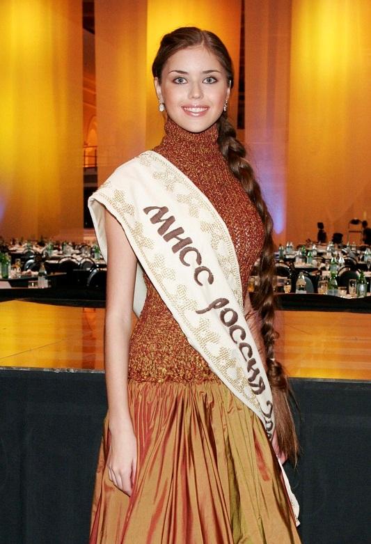 Александра Ивановская Мисс Россия 2005 фото