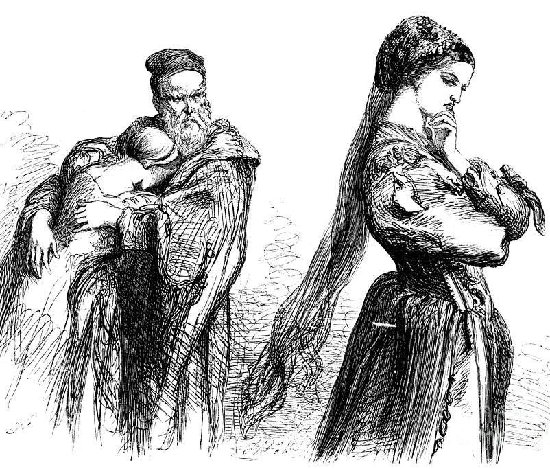Бьянка, Баптиста и Катарина (Шекспир. Укрощение строптивой)