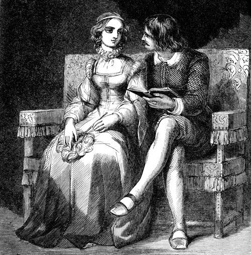 Люченцио и Бьянка (Шекспир. Укрощение строптивой)