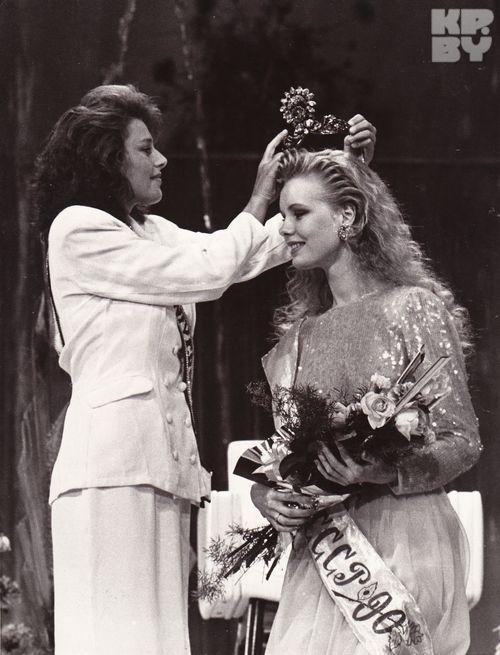 Мария (Маша) Кежа - Мисс СССР 1990. фото