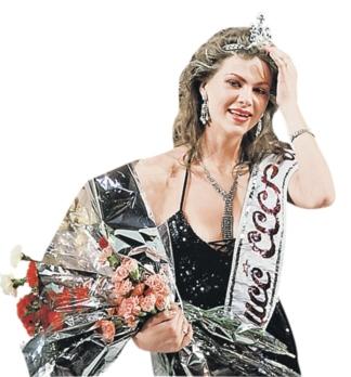 Юлия Суханова, первая Мисс СССР (1989). фото