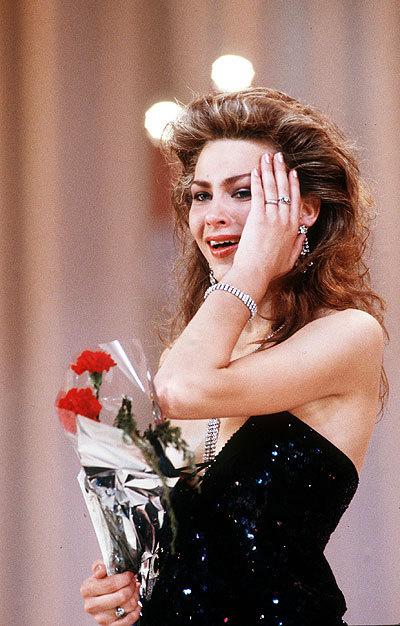 Юлия Суханова, Мисс Советский Союз 1989. фото