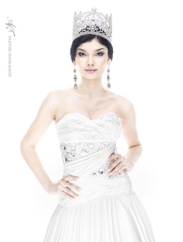 Жазира Нуримбетова - Мисс Казахстан 2012. фото