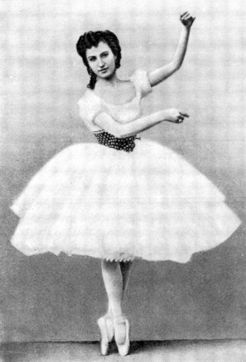 балерина Анна Иосифовна Собещанская. фото
