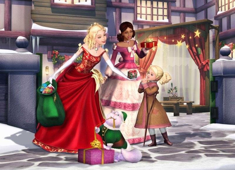 мультфильм Барби Рождественская история