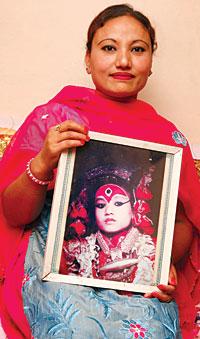 бывшая Кумари - Рашмила Шакья. фото