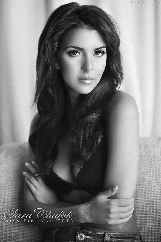 Сара Шафак - Мисс Финляндия 2012. фото