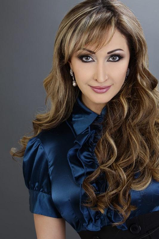 красивая марокканская женщина Rajaa Kasabni. фото