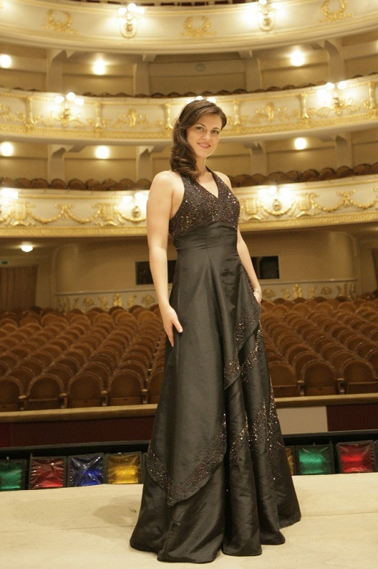 солистка Большого театра Венера Гимадиева (сопрано). фото
