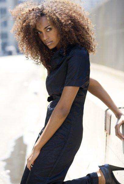 Самая красивая эфиопка - модель Gelila Bekele фото