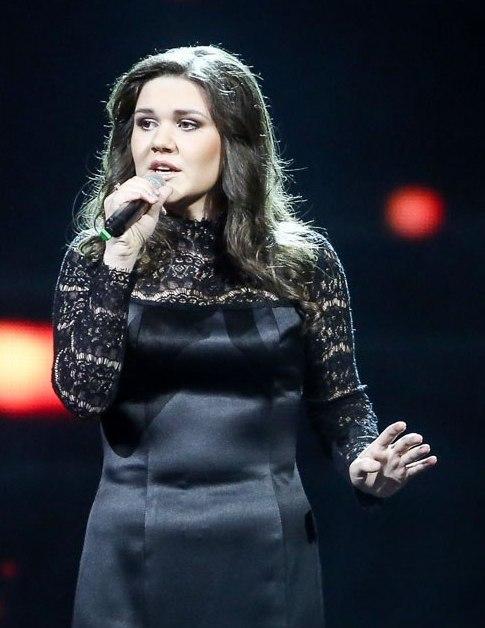 Дина Гарипова, победительница проекта Голос. фото
