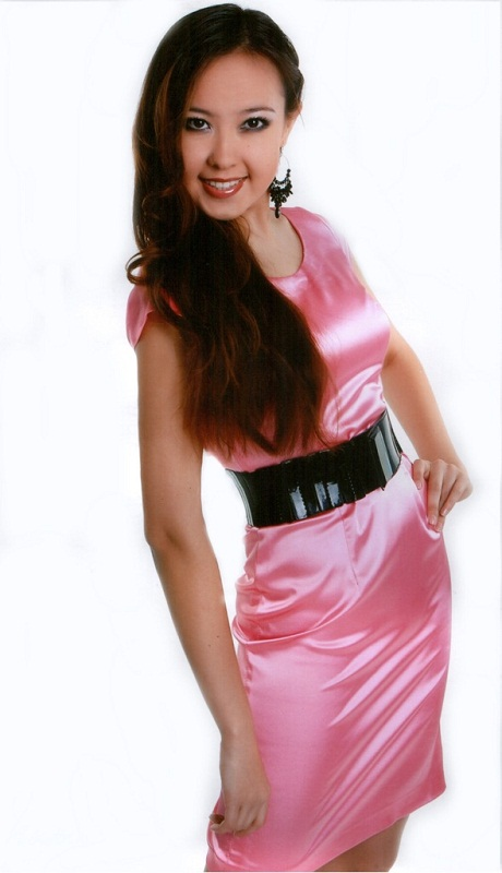 Разиля Абдулгазина - вице-Мисс Азия Альма Матер 2012. фото
