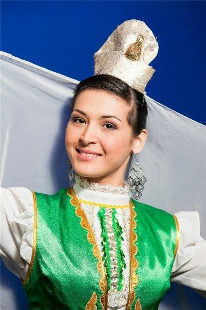 Рима Ямалтдинова победительница конкурса татарских красавиц Башкортостана Навруз Гузале-2013. фото