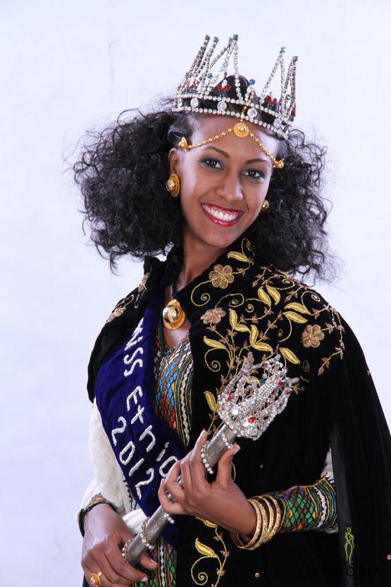 участница Мисс мира 2013 Genet Tsegay Эфиопия фото