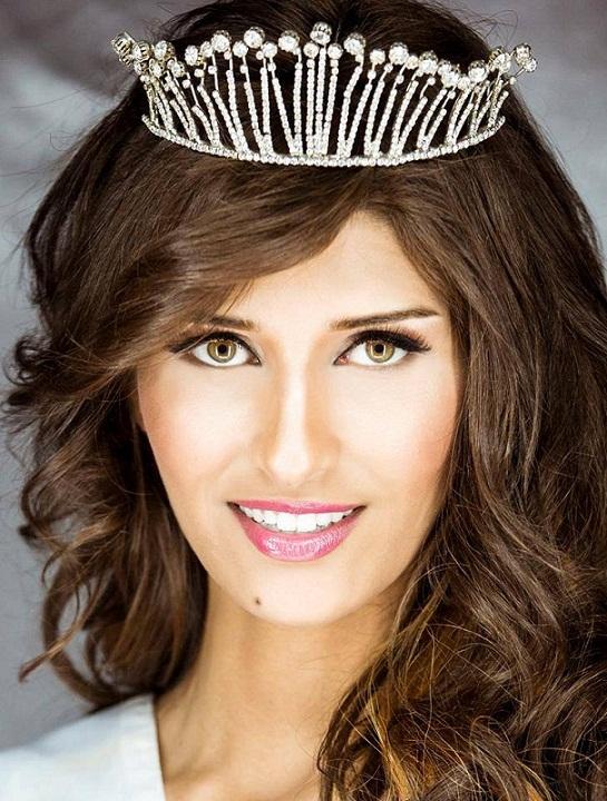 участница Мисс мира 2013 Hiba Telmoudi Тунис фото
