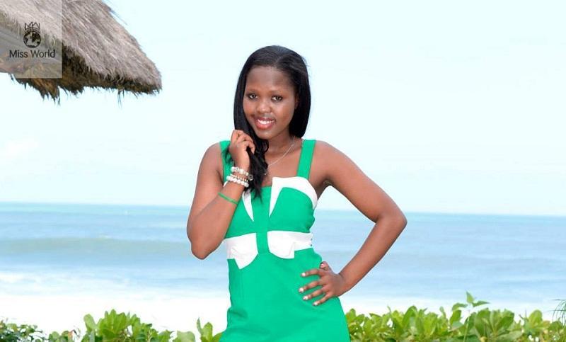 участница Мисс мира 2013 Mamahlape Matsoso Лесото фото