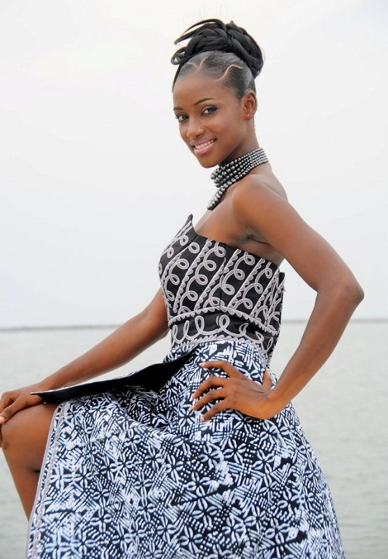 участница Мисс мира 2013 Mariama Diallo Гвинея фото