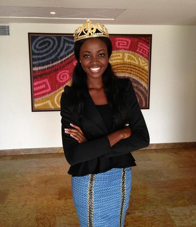 участница Мисс мира 2013 Naa Okailey Shooter Гана фото