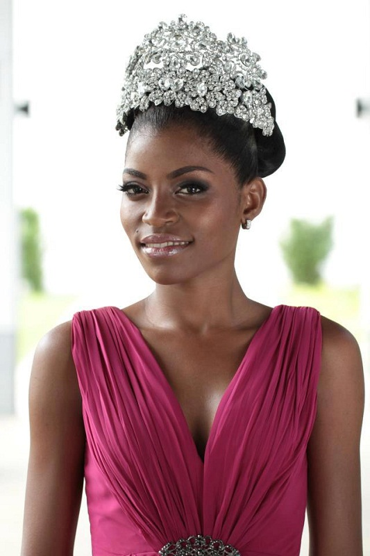 участница Мисс мира 2013 Restituta Mifumu Nguema Экваториальная Гвинея фото
