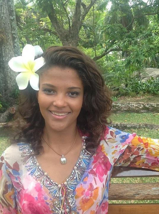 участница Мисс мира 2013 Agnes Emmanuel Сейшельские острова фото