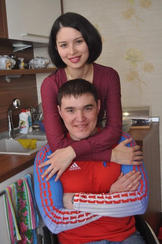 Ирек Зарипов и его жена Елена фото