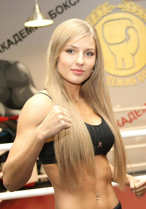 красивая спортсменка-белоруска Екатерина Вандарьева фото