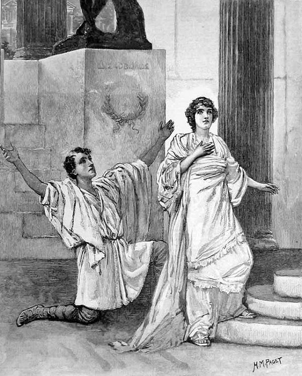 постановка Гипатии в лондонском Королевском театре 1893